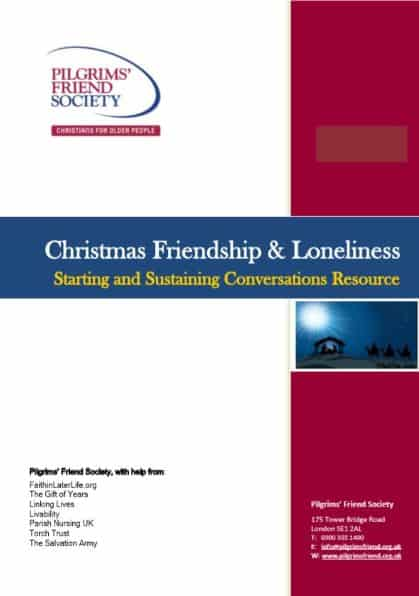 Christmas Friendship and Loneliness- Starting and sustaining conversations