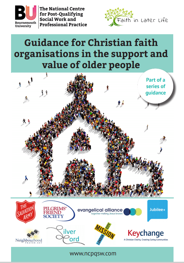 Guidance for Christian faith organisations in the support of older people